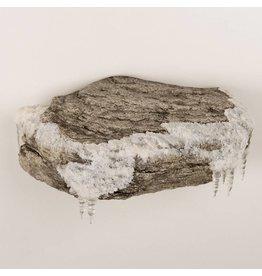 Single Rock Winter Theme Wall Mount