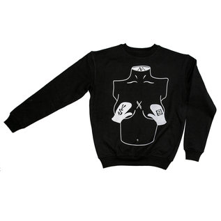 go-shred Clothing go-shred x Young & Savage Sweater (Schwarz)
