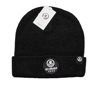go-shred Clothing go-shred x Neff Beanie  (Schwarz)