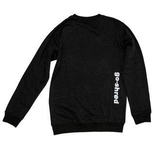 go-shred Clothing go-shred Sweater (Schwarz & Weiss)