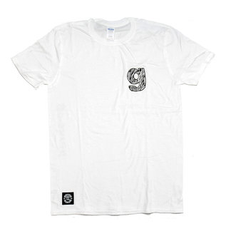 "go-shred Clothing go-shred T-Shirt ""g"" Logo (Weiss)"