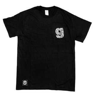 "go-shred Clothing go-shred T-Shirt ""g"" Logo (Schwarz)"