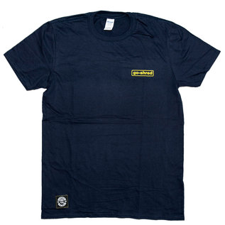 go-shred Clothing go-shred T-Shirt Small Logo (Blau)
