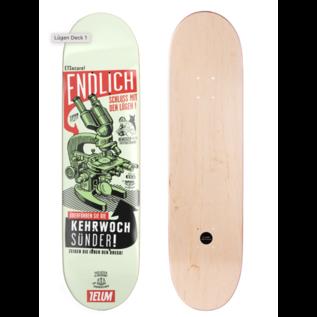 TELUM Skateboards KEHRWOCHE - Lügen DECK TELUM skateboards