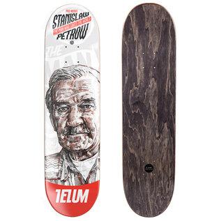 TELUM Skateboards TELUM skateboards THANKS A LOT STANISLAW PETROV DECK