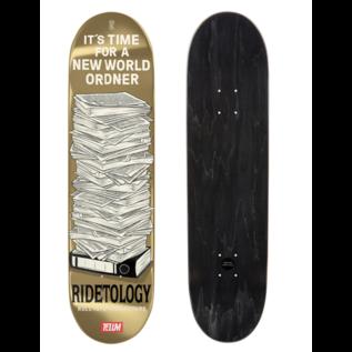 """TELUM Skateboards Ridetology """"New World Ordner"""" TELUM skateboards"""