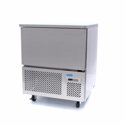 Maxima Schockfroster - 5 x 1/1 - 40 x 60 - mit 4 Rollen - 870 Watt