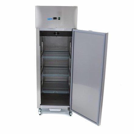 Maxima Gastro Kühlschrank - 400 l - -2 bis 8 °C - mit 4 Rollen und 2 Bremsen - 300 Watt