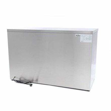 Maxima Kühltisch - 8 x 1/6 - 0 bis 10 °C - mit 3 Türen - 230 Watt