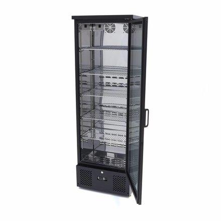 Maxima Deluxe Barkoeler / Flessenkoeler / Displaykoeler Hoog 1 Klapdeur