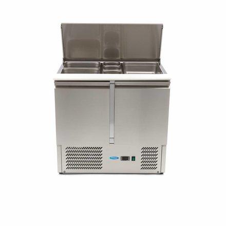 Maxima Saladette - Gekühlt - 257 l - 0 bis 10 °C - mit 2 Türen - 230 Watt