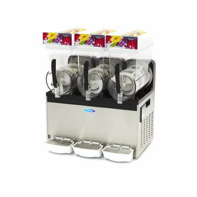 Maxima Slush / Granita Machine 3 x 15L