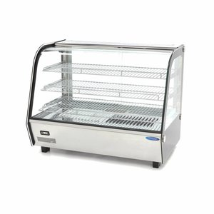 Maxima Deluxe Stainless Steel Hot Display 160L