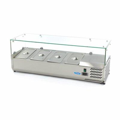 Maxima Vitrine Réfrigérée / Froide de Comptoir 120 cm - 1/3 GN