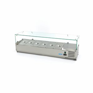 Maxima Countertop Refrigerated Display 140 cm - 1/3 GN