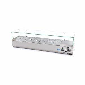 Maxima Vitrine Réfrigérée / Froide de Comptoir 160 cm - 1/3 GN