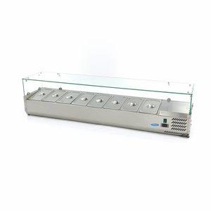 Maxima Vitrine Réfrigérée / Froide de Comptoir 180 cm - 1/3 GN