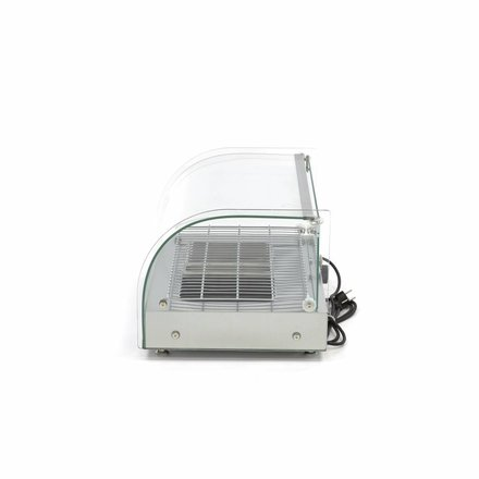 Maxima Stainless Steel Hot Display - 1 Level - 55 cm - 25L