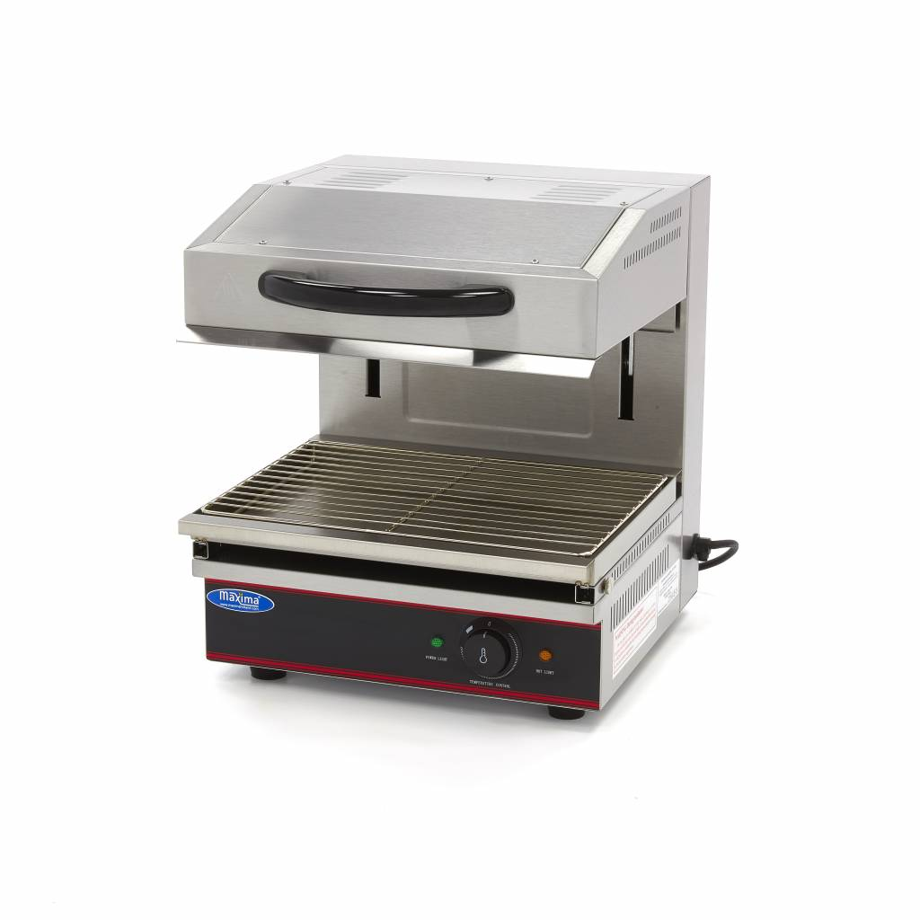 Maxima Deluxe Salamander Grill With Lift 440x320mm 2 8 Kw Maxima Kitchen Equipment