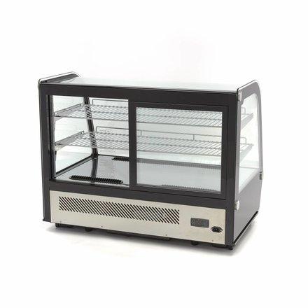 Maxima Kühlvitrine Gebäck - Schwarz - 160 l - 0 bis 12 °C - 200 Watt