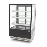 Maxima Torta / pastelería exhibidores refrigerados 400L Negro