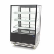 Maxima Torta / pastelería exhibidores refrigerados 500L Negro