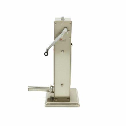 Maxima Worstenvuller 5L - Verticaal - RVS - 4 Vulbuizen