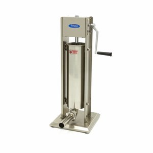 Maxima Sausage Filler 7L - Vertical - Stainless Steel - 4 Filling Tubes