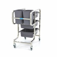 Maxima Cleaning Trolley Including 5 Bins