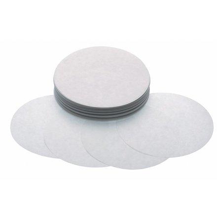 Maxima Hamburger Blätter 100 mm - Weiß Papier - 500 Stück