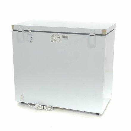 Maxima Gastro Gefriertruhe Digital - 190 l - -24 bis -14 °C - mit 2 Rollen und 2 Füßen - 59 Watt