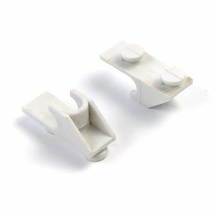 Maxima Shelf Showcase Incl. 2 Clips White for 58L / 78L / 98L