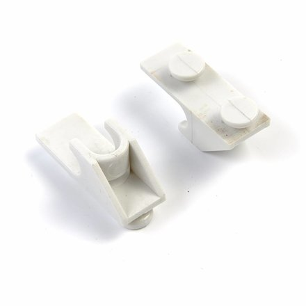Maxima Shelf Showcase Incl. 2 Clips White for 235L