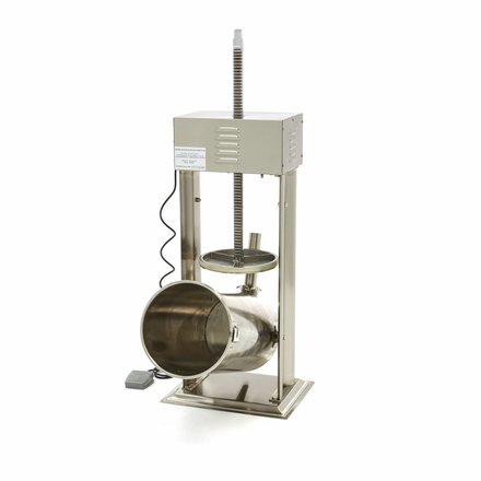 Maxima Automatic Sausage Filler 25L - Vertical - Stainless Steel - 4 Filling Tubes