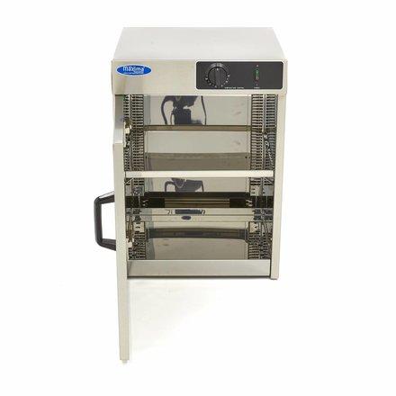 Maxima Wärmeschrank Tellerwärmer - Teller bis Ø 32 cm - bis zu 30 Teller - 400 Watt