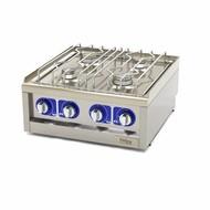 Maxima Grado comercial Cocina - 4 quemadores - Gas - 60 x 60 cm