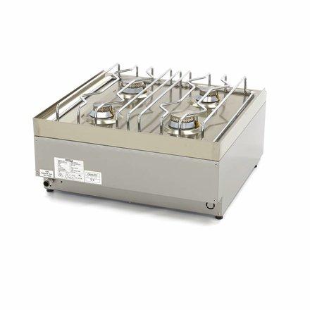 Maxima Commercial Grade Kochfeld - 4 Brenner - Gas - 60 x 60 cm