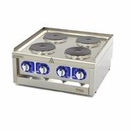 Maxima Grado Cocina Comercial - 4 quemadores - Eléctrico - 60 x 60 cm