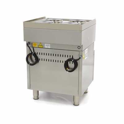Maxima Commercial Grade Cooker - 4 Burners - With Oven - Electric- 60 x 60 cm