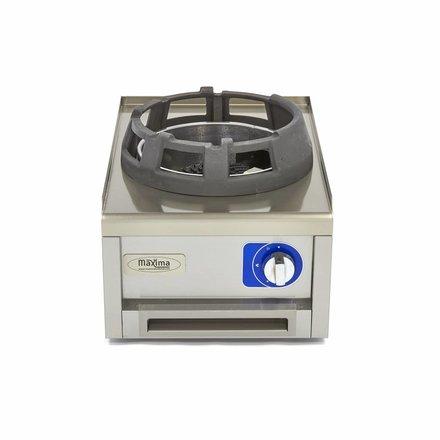 Maxima Commercial Klasse Gastro Wok Gasbrenner - Gas - 400 x 600 mm tief - 12000 Watt