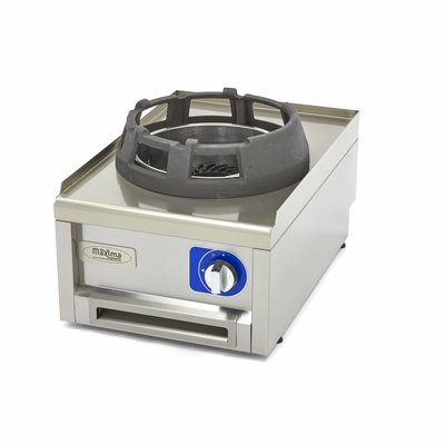 Maxima Commercial Grade Wok Brenner - Gas - 40 x 60 cm