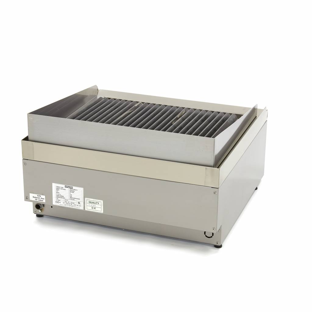 Beste Commercial Grade Chargrill - Dubbel - Gas - Maxima Kitchen Equipment OY-53