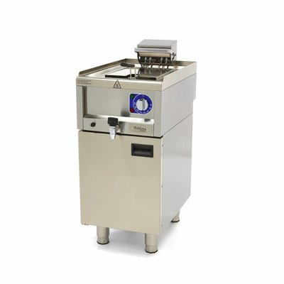 Maxima Commercial Grade Fryer 1 x 10L - Electric - 40 x 60 cm with Faucet