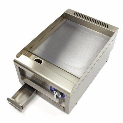 Maxima Commercial Grade Griddle Smooth - Electric - 40 x 60 cm