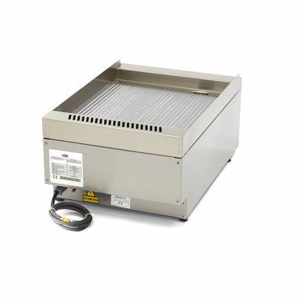 Maxima Commercial Grade Grillplatte Gerillt - Elektrisch - 40 x 60 cm