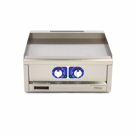Maxima Commercial Grade Griddle Smooth - Electric - 60 x 60 cm