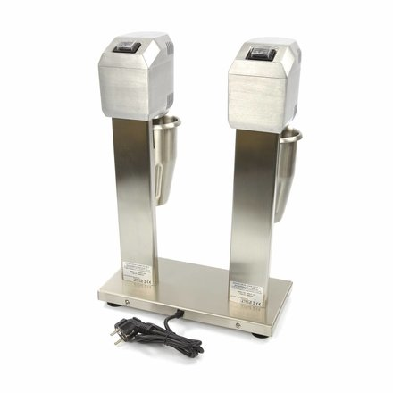 Maxima Gastro Getränkemixer Doppelt - 1 l - 2 Geschwindigkeitsstufen - 2 x 400 Watt