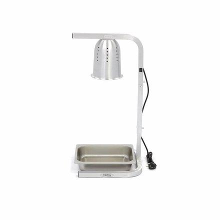 Maxima Gastro Wärmelampe - 1-fach - mit 1 x 1/2 GN-Behälter - 275 Watt