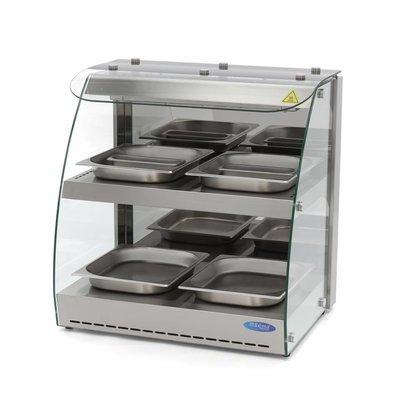 Maxima Hot Display - 2 Levels - 4x 1/2 GN