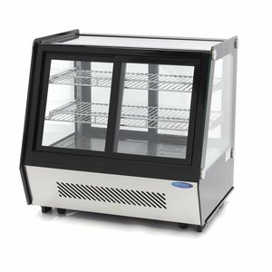 Maxima Luxe Vitrine Réfrigérée / Vitrine Pâtisserie 125L